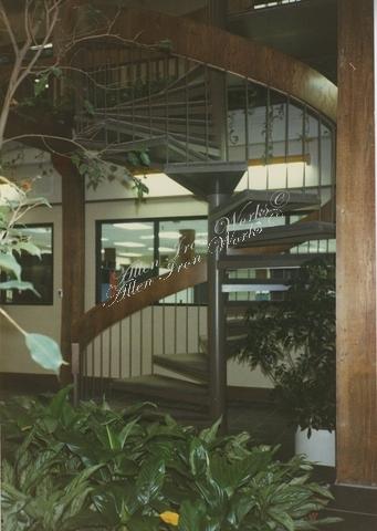 Curved Metal Stairs Birmingham AL
