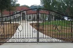 Birmingham Iron Gates - Allen Iron Works