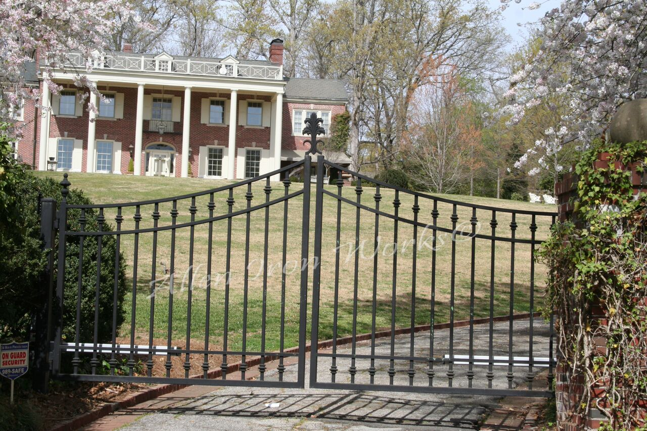 Iron Entrance Gates Birmingham AL