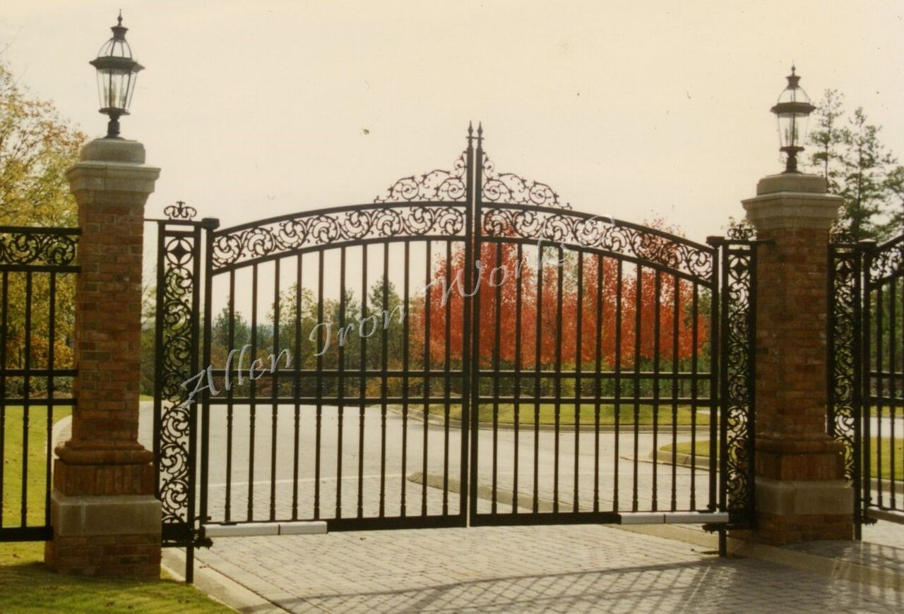 Iron Entrance Gates Birmingham AL - Allen Iron Works ...