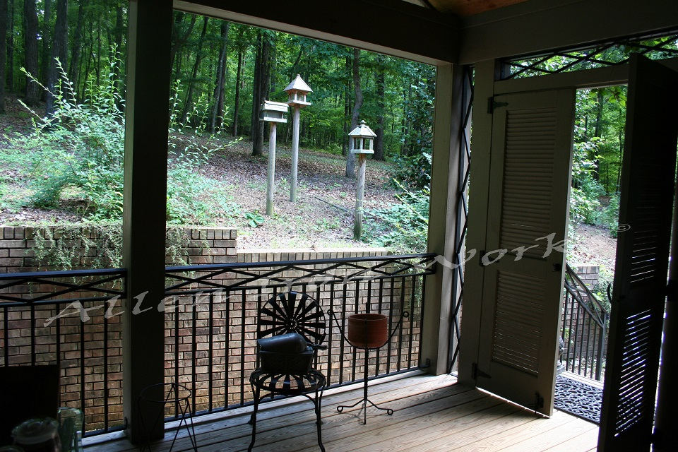 Diamond Detail - Metal Exterior Railing Birmingham AL