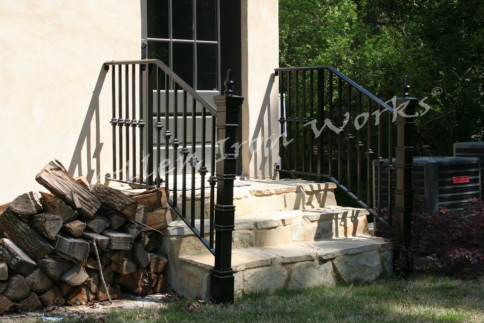 Iron Exterior Railing in Birmingham AL - The Hartford