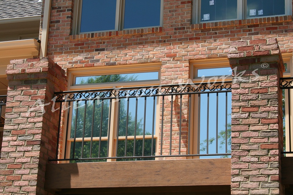 Iron Exterior Railings Birmingham AL - The Pontabla