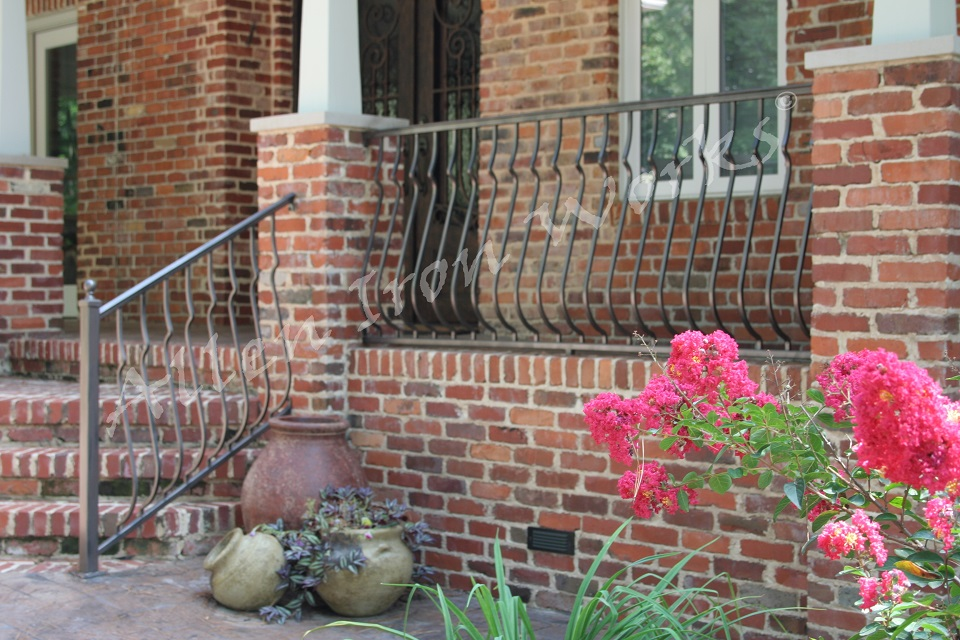 The Balcony - Iron Exterior Railings Birmingham AL