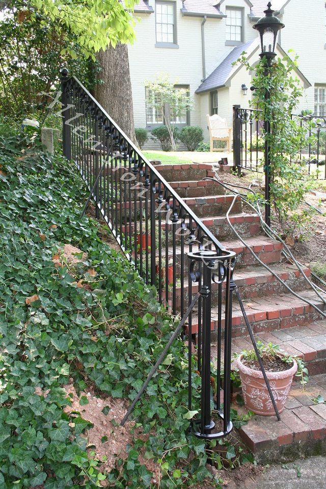 The Grace - Iron Elegant Railing Birmingham AL