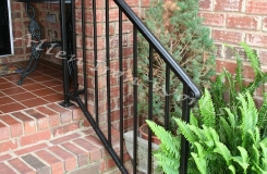 Basic Exterior Railing Birmingham AL - The Molded Cap