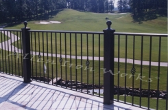 The Greystone - High End Exterior Iron Railing Birmingham AL