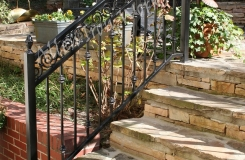Exterior Iron Railings Birmingham AL - The Pontalba 2