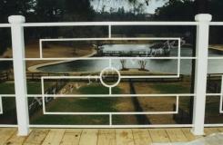 The Art Contempory Exterior Iron Rail Birmingham AL