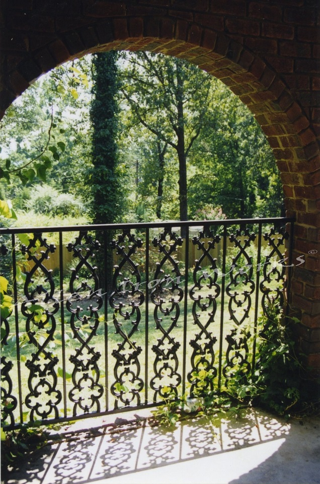 The Bernard - Upscale Iron Fencing Birmingham AL