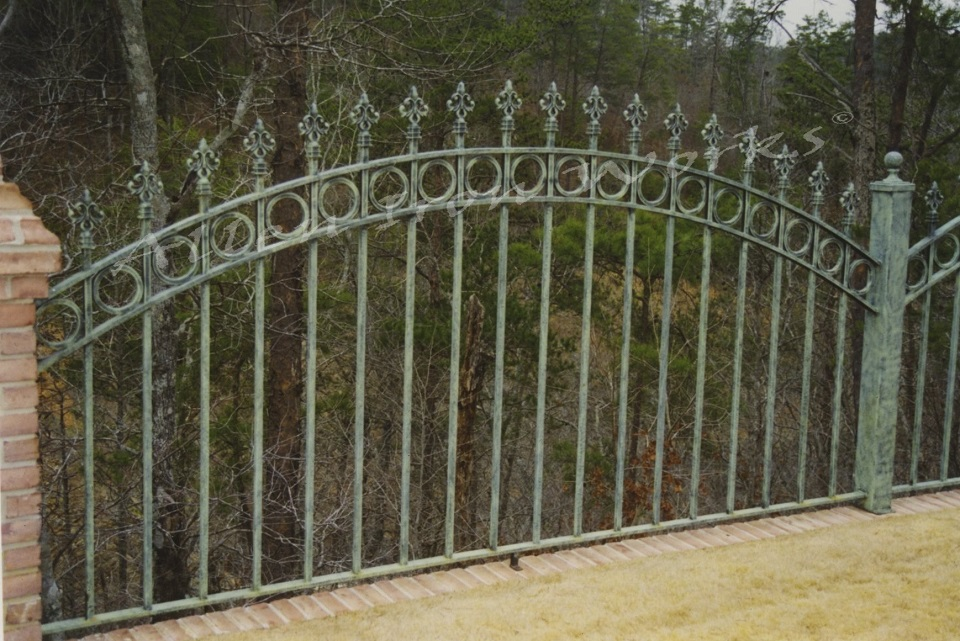 The Cole - Impressive Iron Fencing Birmingham AL