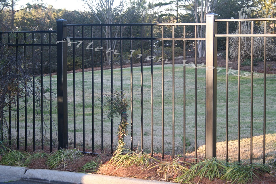 The Inverness - Iron Fencing Company Birmingham AL - Allen Iron Works