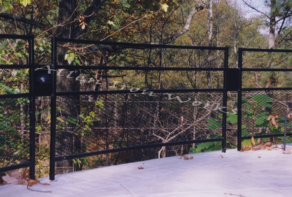 The Knollwood - Custom Iron Fencing Birmingham AL