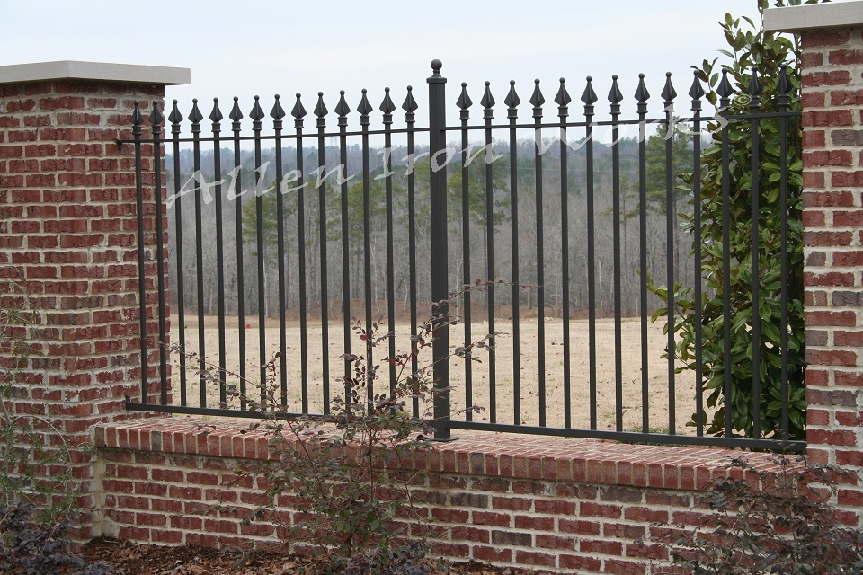 The Spear - Brick and Iron Fencing Birmingham AL