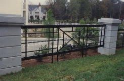 The Crossley - Contemporary Iron Fencing Birmingham AL