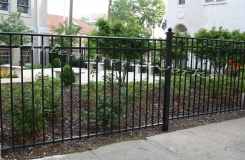 The Five Points - Iron Fencing Birmingham AL by Allen Iron Works