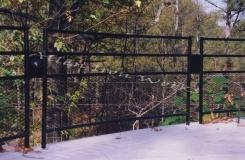 The Knollwood - Custom Iron Fencing Birmingham AL