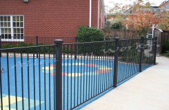 The Asbury - Iron Pool Fencing Birmingham AL