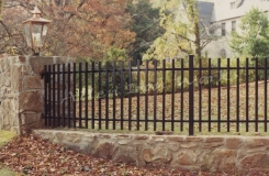 The Stonegate - Upscale Community Fencing Birmingham AL