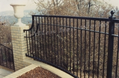 The Sybil - Custom Iron Fencing Birmingham AL