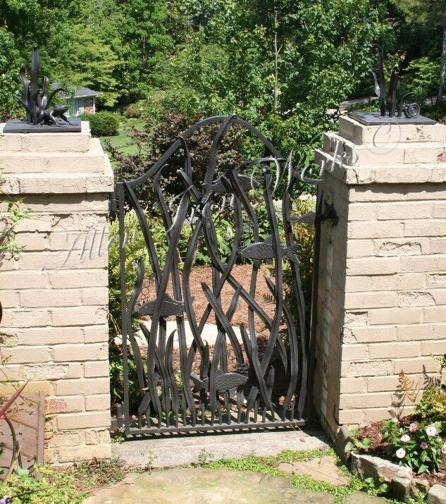 iron-koi-fish-gate-birmingham-al