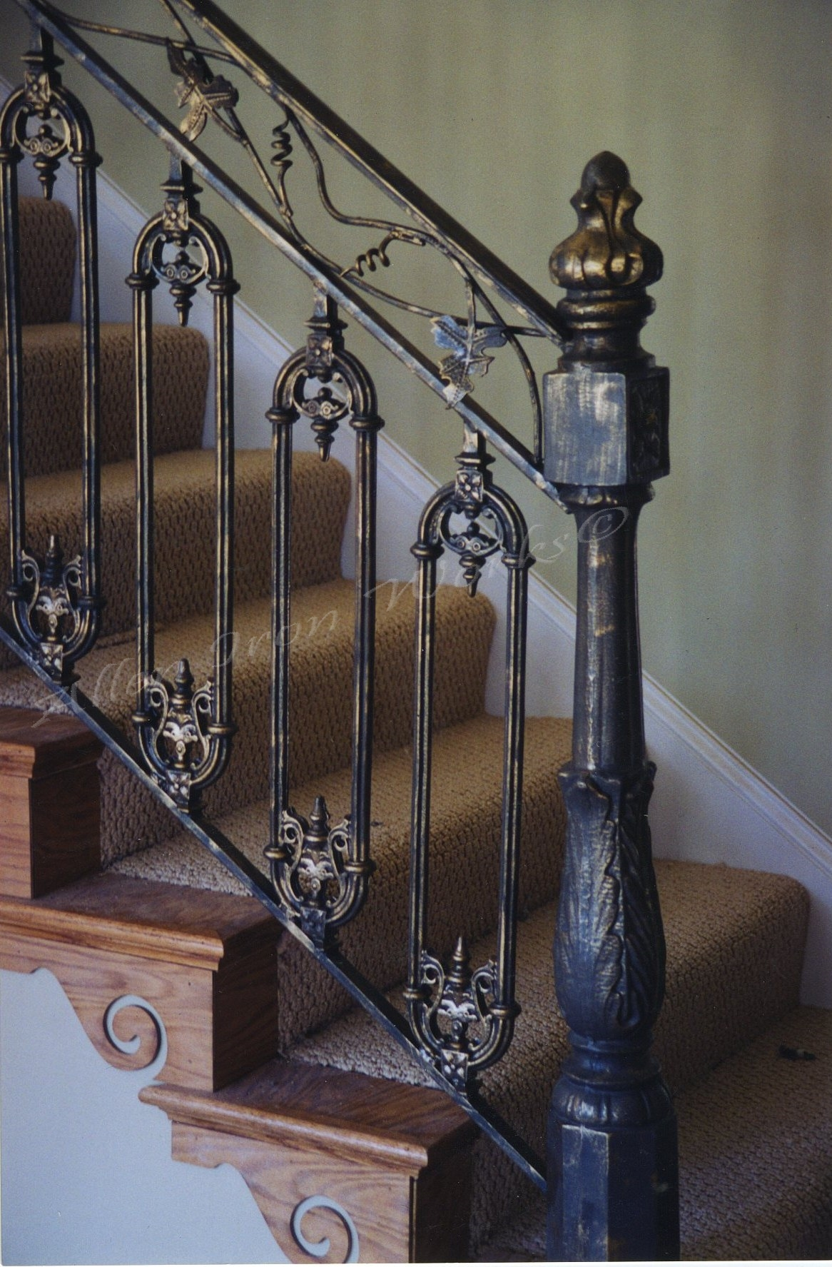 Interior Railings Birmingham Al on outdoor metal stairs