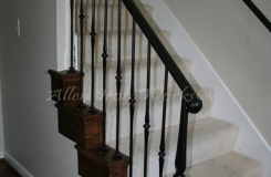 iron-interior-railing-with-decorative-forged-picket-anchored-to-steps-birmingham-al