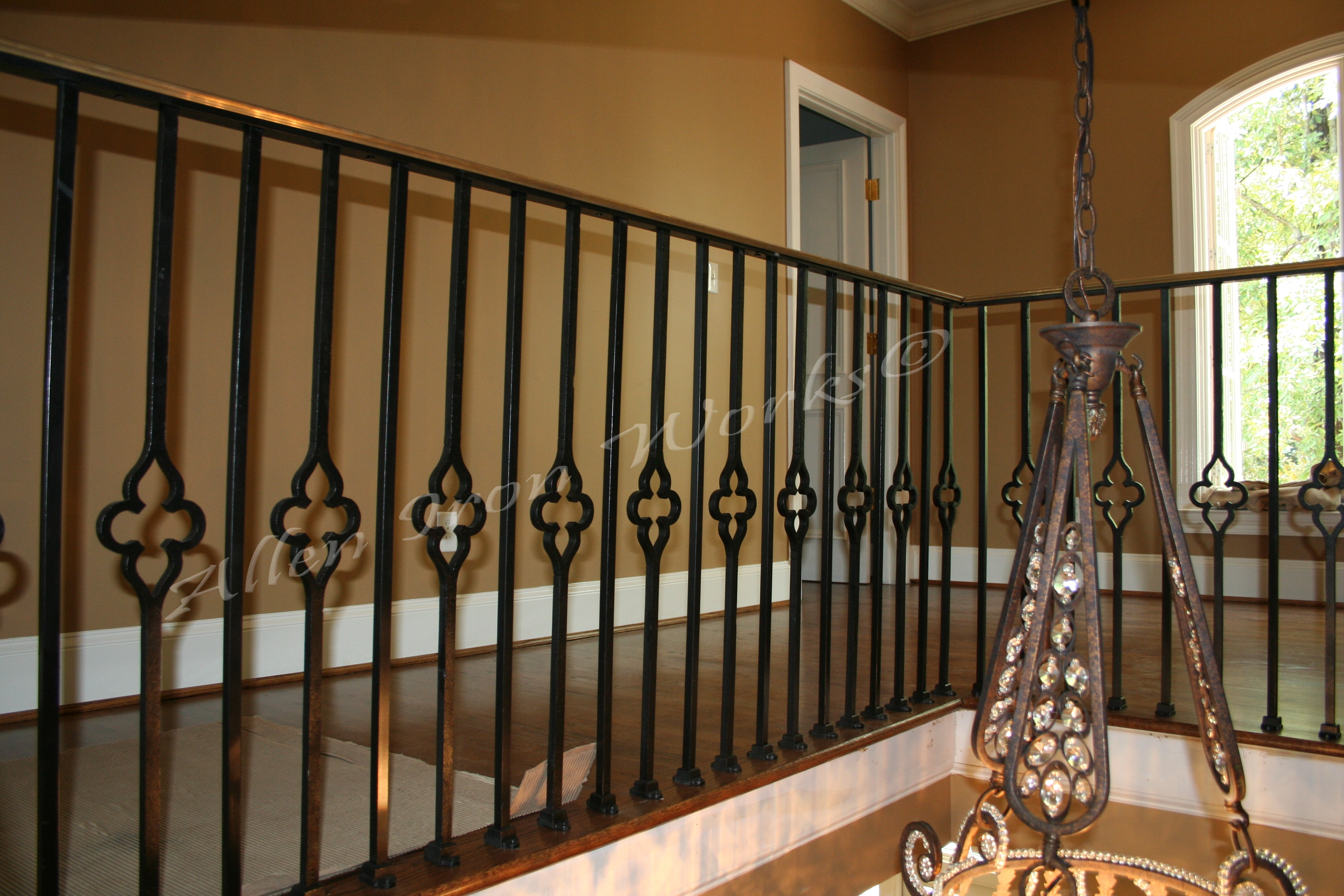 Quatrefoil Interior Iron Railings Birmingham Alabama