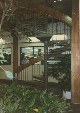 Commercial Spiral Stairs Birmingham AL