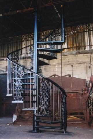 Residential Interior Spiral Stairs Birmingham AL