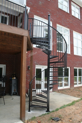 Residential Iron Spiral Stairs Birmingham AL