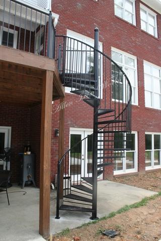 Residential Iron Spiral Stairs Birmingham AL