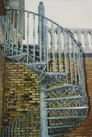 Residential Metal Spiral Stairs Birmingham AL