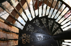 Decorative Iron Spiral Stair Birmingham AL