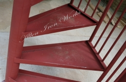 Metal Tread Spiral Stair Manufacturers Birmingham AL
