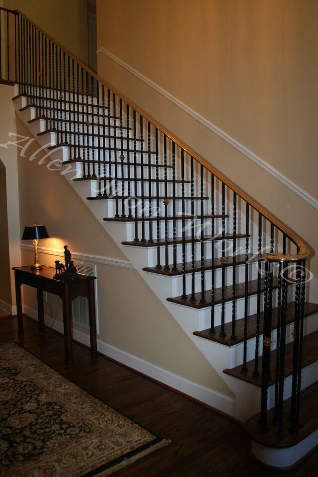 Interior Iron Brass Handrail Birmingham Al