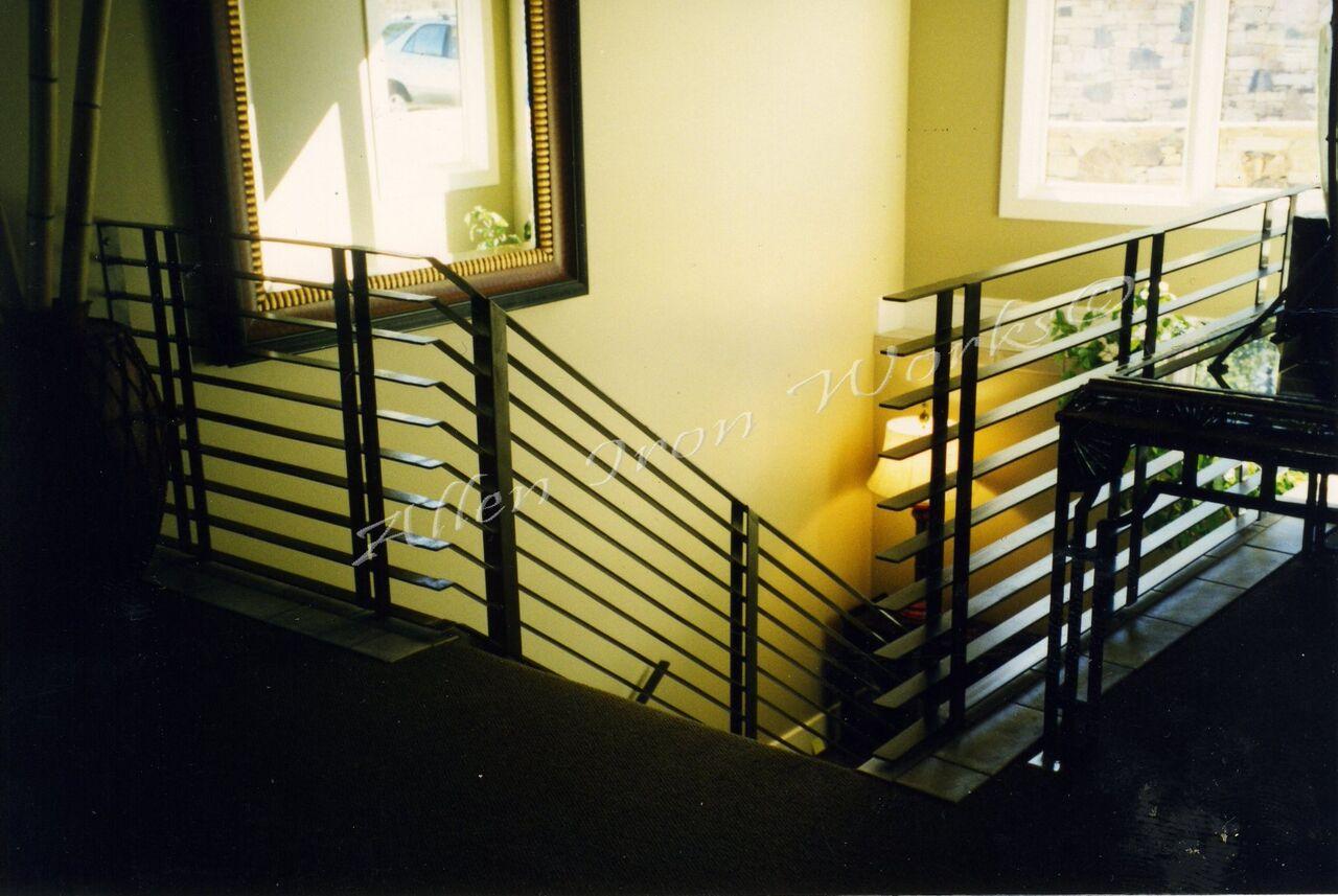 Iron railings birmingham al allen iron works for Interior exterior birmingham al